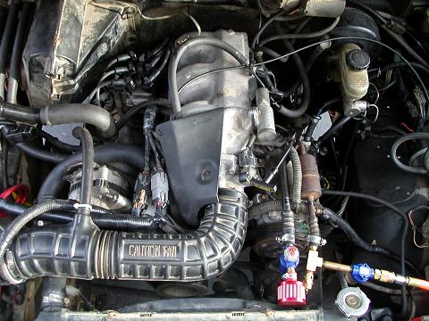 motordone1 dbrowns 4 0l swap into his bronco ii  at gsmportal.co