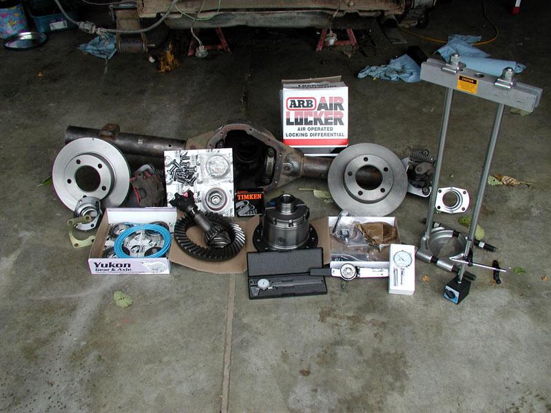 Broncoii4x4 Dana 60 Gear Setup And Arb Air Locker Install